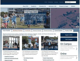 Screenshot for odu.edu