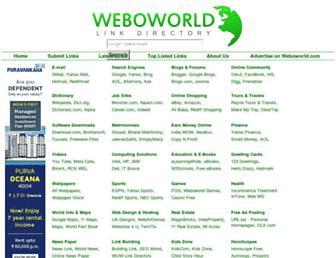 Thumbshot of Weboworld.com