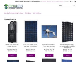renugen.co.uk screenshot