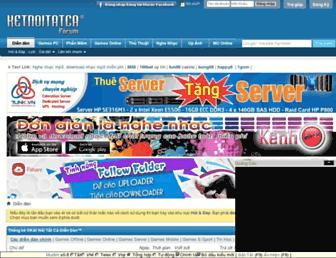 Main page screenshot of 4r.ketnoitatca.net