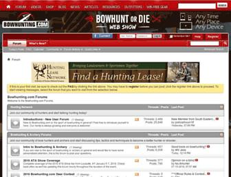 forums.bowhunting.com screenshot
