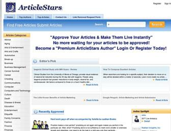 Thumbshot of Articlestars.com