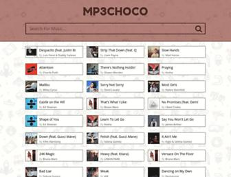 mp3choco.com screenshot