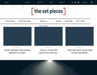 thesetpieces.com screenshot