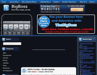 thebigboss.org screenshot