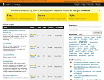 userscripts-mirror.org screenshot