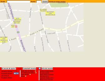 harta-bucuresti.com.ro screenshot