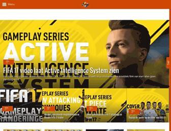 fifabenelux.com screenshot