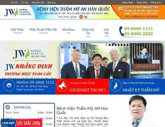 thammyhanquoc.com.vn screenshot