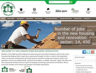 lhba.on.ca screenshot