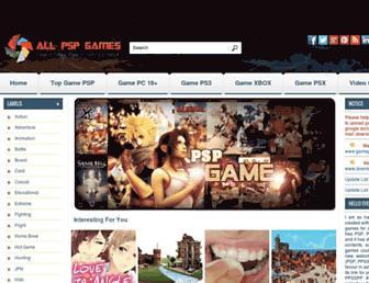 downloadgamepsp.com screenshot