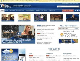 Thumbshot of Nbcsandiego.com