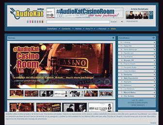 audiokat.com screenshot