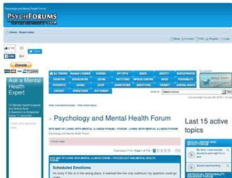 psychforums.com screenshot