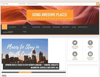 goingawesomeplaces.com screenshot