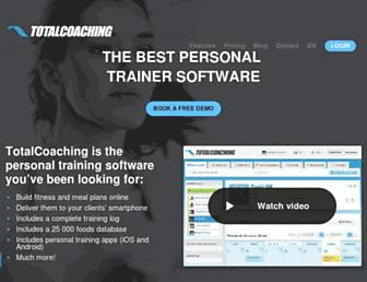 totalcoaching.com screenshot
