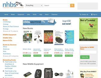 nhbs.com screenshot