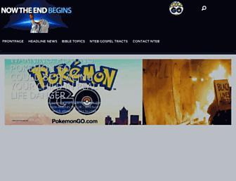 Thumbshot of Nowtheendbegins.com