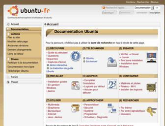 doc.ubuntu-fr.org screenshot
