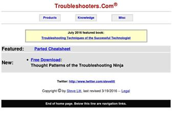 troubleshooters.com screenshot