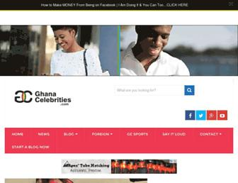 Thumbshot of Ghanacelebrities.com