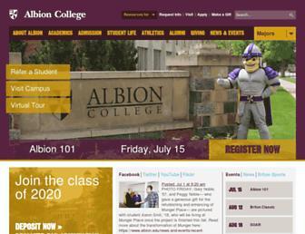 Thumbshot of Albion.edu