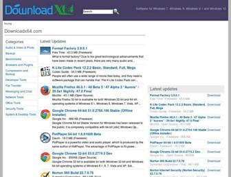 Thumbshot of Downloadx64.com