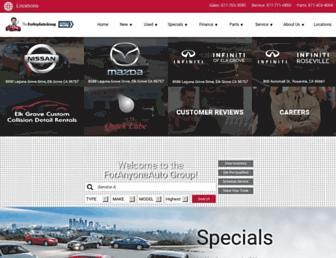 foranyauto.com screenshot