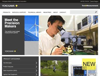 tmi.yokogawa.com screenshot