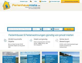 Thumbshot of Ferienhausmiete.de