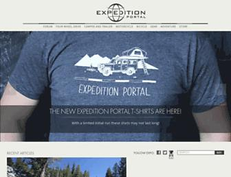 Thumbshot of Expeditionportal.com