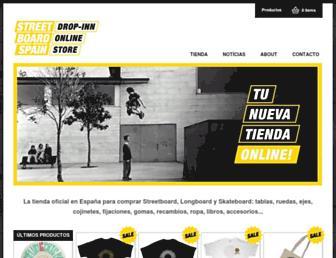 streetboardspain.com screenshot