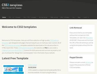 css3templates.co.uk screenshot
