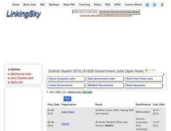 linkingsky.com screenshot