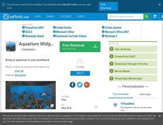 aquarium-widget.en.softonic.com screenshot