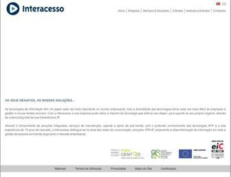Thumbshot of Interacesso.pt
