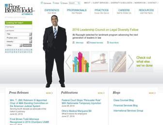 frostbrowntodd.com screenshot