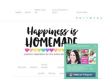 Thumbshot of Happinessishomemade.net