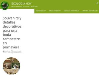 ecologiahoy.net screenshot