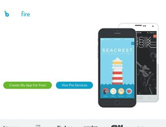 buildfire.com screenshot