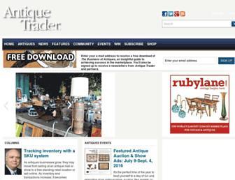 antiquetrader.com screenshot