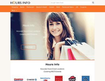 Thumbshot of Hoursguide.com