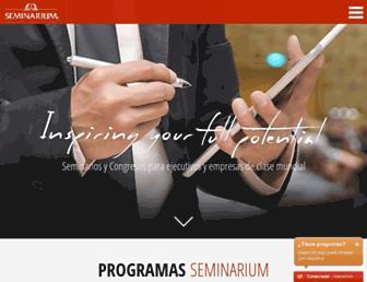 seminarium.com screenshot