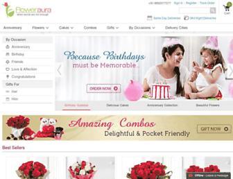 floweraura.com screenshot