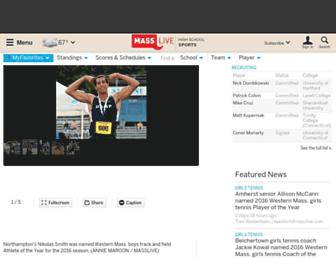highschoolsports.masslive.com screenshot