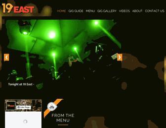 19east.com screenshot