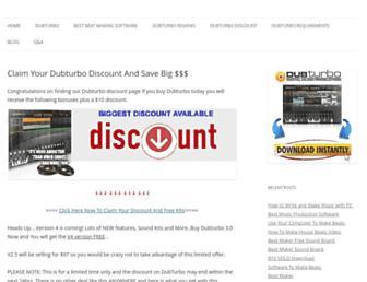 dubturbopromo.com screenshot