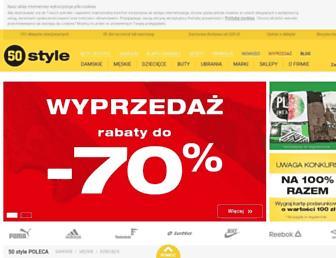 50style.pl screenshot