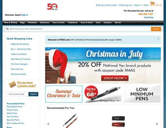 Thumbshot of Pens.com