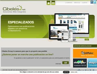 Thumbshot of Cibeles.net